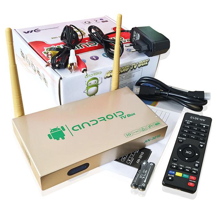Thiết bị đầu thu Android TV Box AN-3010(Gold)