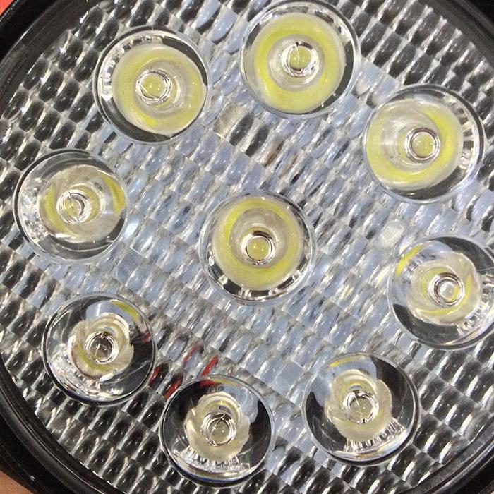 Đèn xe 9 led tròn