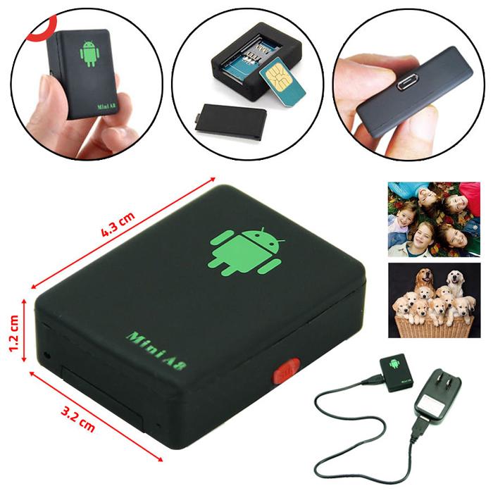 Thiết bị đinh vị mini A8 sử dụng sim GSM/GPRS/GPS
