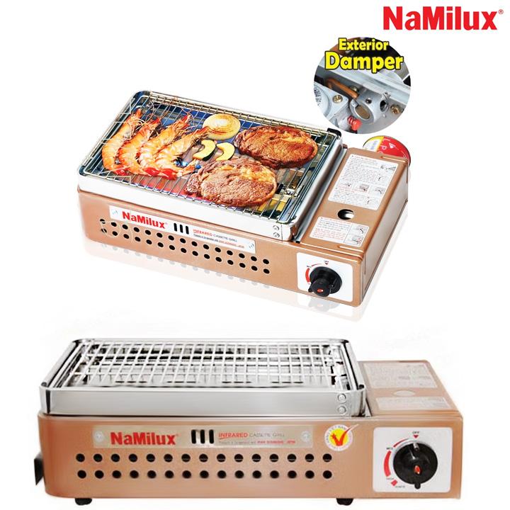 Bếp nướng gas hồng ngoại NaMilux