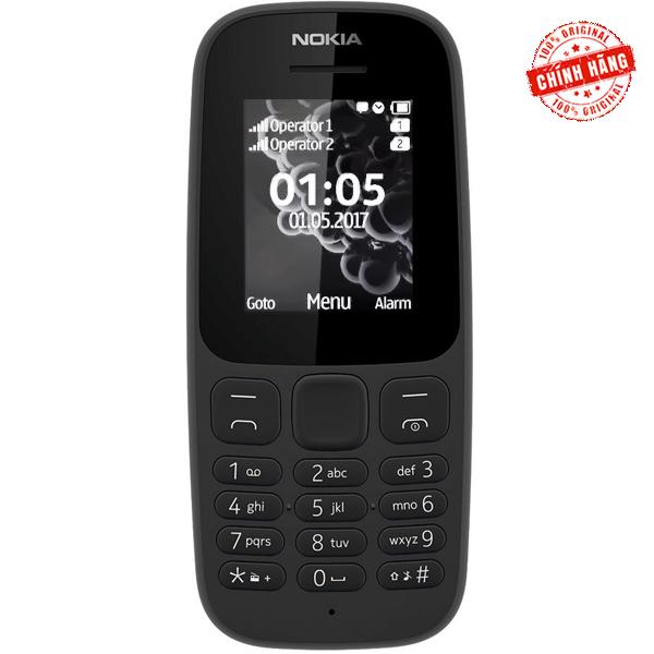 Điện thoại Nokia 105 2 Sim (2017) - Hàng hãng phân phối chính thức