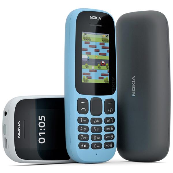 Điện thoại Nokia 105 1 Sim (2017) - Hàng hãng phân phối chính thức
