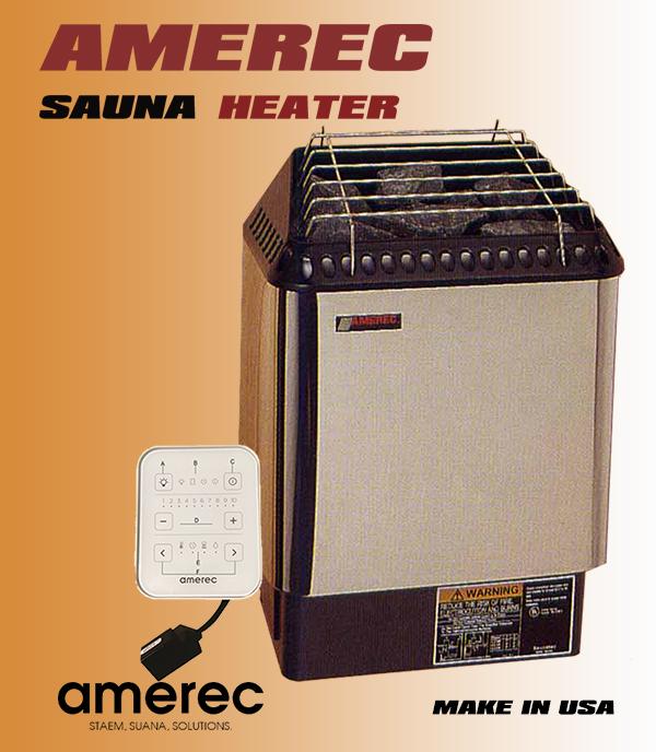 Máy xông hơi sauna AMEREC 8KW