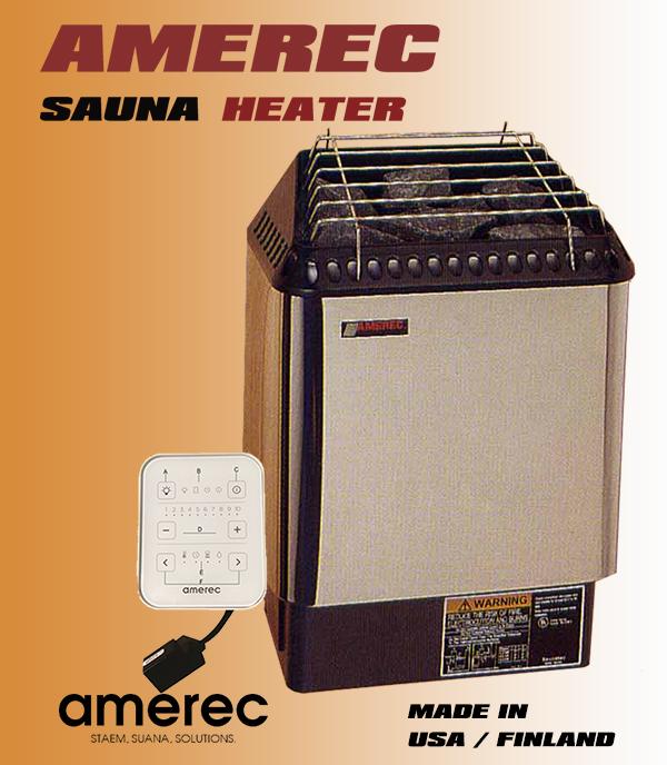 Máy xông hơi sauna AMEREC 6KW