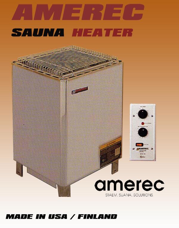 Máy xông hơi sauna AMEREC 10 - 14KW