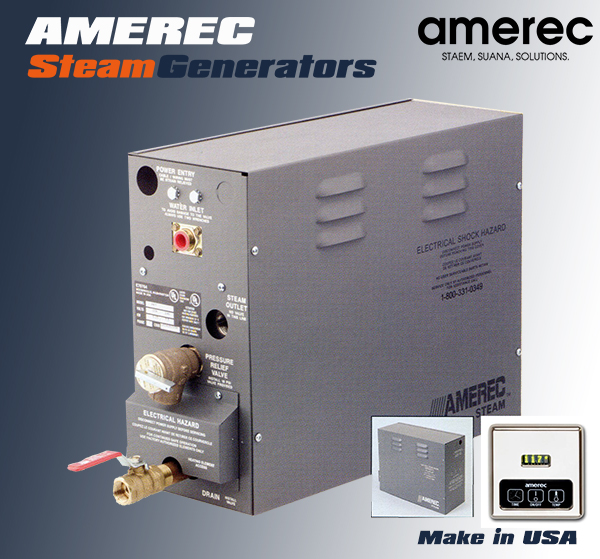 Máy xông hơi nước AMEREC 10KW - 36KW